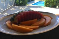 agriturismo la mongolfiera - rinfresco frutta