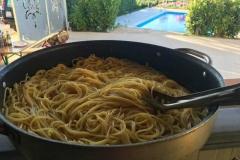 agriturismo la mongolfiera - spaghettata in piscina