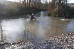 agriturismo la mongolfiera - equitazione escursione guado