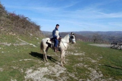 agriturismo la mongolfiera - equitazione montagna