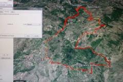 agriturismo la mongolfiera - equitazione percorso