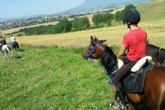agriturismo la mongolfiera - escursione equitazione