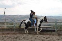 agriturismo la mongolfiera - lezione di equitazione