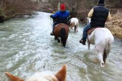agriturismo la mongolfiera - passeggiata nel fiume