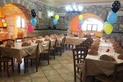 agriturismo la mongolfiera - allestimento festa privata