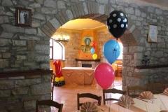 agriturismo la mongolfiera - allestimento tavolo compleanno