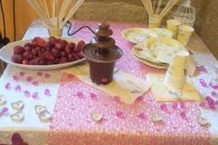 agriturismo la mongolfiera - allestimento tavolo comunione