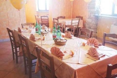 agriturismo la mongolfiera - allestimento tavolo
