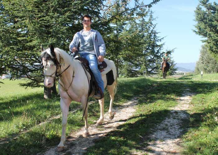 agriturismo la mongolfiera percorso equitazione