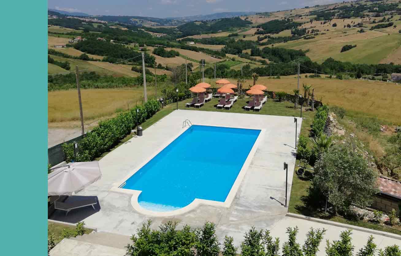 piscina agriturismo Benevento